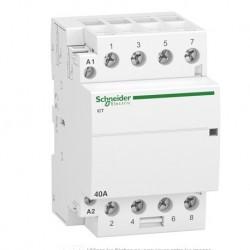 Schneider - Acti9, iCT contacteur 40A 4NO 230...240VCA 50Hz - Réf : A9C20844