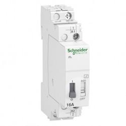 Schneider - Acti9, iTL télérupteur 16A 1NO 230...240VCA 110VCC 50-60Hz - Réf : A9C30811