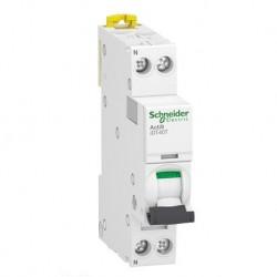 Schneider - Acti9 iDT40T - disjoncteur modulaire - 1P+N - 16A - courbe C - 4500A/6kA - Réf : A9P22616