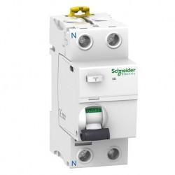 Schneider - Acti9, iID interrupteur différentiel 2P 63A 30mA type AC - Réf : A9R11263