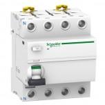 Schneider - Acti9, iID interrupteur différentiel 4P 25A 30mA type AC - Réf : A9R11425