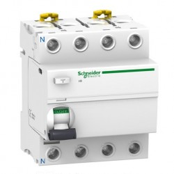 Schneider - Acti9, iID interrupteur différentiel 4P 80A 30mA type AC - Réf : A9R11480