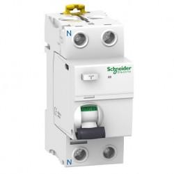 Schneider - Acti9, iID interrupteur différentiel 2P 63A 300mA type AC - Réf : A9R14263
