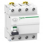 Schneider - Acti9, iID interrupteur différentiel 4P 63A 30mA type Asi - Réf : A9R31463