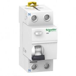 Schneider - Acti9 iIDK - interrupteur différentiel - PdC 4,5kA 2P 25A type AC 30mA - Réf : A9R55225