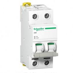 Schneider - Acti9, iSW interrupteur-sectionneur 2P 100A 415VAC - Réf : A9S65291