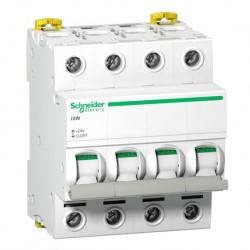 Schneider - Acti9, iSW interrupteur-sectionneur 4P 100A 415VAC - Réf : A9S65491