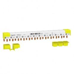 Schneider - Acti9 iDT40 - peigne - 3P+N - 12 modules de 18mm - 80A - Réf : A9XPN712