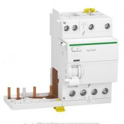 Schneider - Acti9 iTG40 - module différentiel Vigi tête de groupe - 3P+N 40A 300mA typ A SI - Réf : A9Y15740