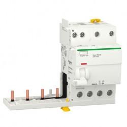 Schneider - Acti9 iTG40 - module différentiel Vigi tête de groupe - 4P 40A 300mA Sél A SI - Réf : A9Y16440