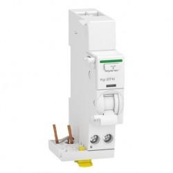 Schneider - Acti9 iDT40 - module différentiel Vigi - départ iDT40 - 1P+N 40A 300mA type AC - Réf : A9Y63640