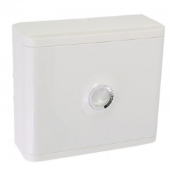 Legrand - Habillage + porte blanche pour platines de branchement DRIVIA - Blanc RAL 9003 - Réf : 401185