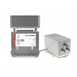 Cahors - Kit préamplificateur terrestre UHF16-36 db 5G - VISIOSAT - Réf : 0145179R13
