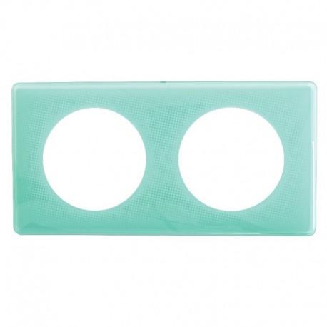 Plaque 2P Turquoise 50S - Réf : 098865