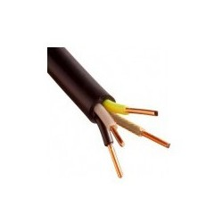 Câble U1000 R2V CU (Rigide) - 4G2.5 mm² - Coupe au mètre - Réf : 030000