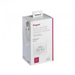 Legrand - Pack 3 prises de courant connectées Céliane with Netatmo - blanc - Réf : 067638