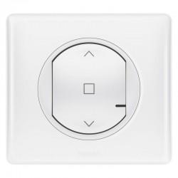 Legrand - Interrupteur filaire connecté Céliane with Netatmo pour volet roulant - blanc - Réf : 067726