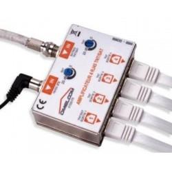 Omelcom - Amplificateur TNT/SAT/CABLO sur 4 sorties RJ45- Ref : GO165